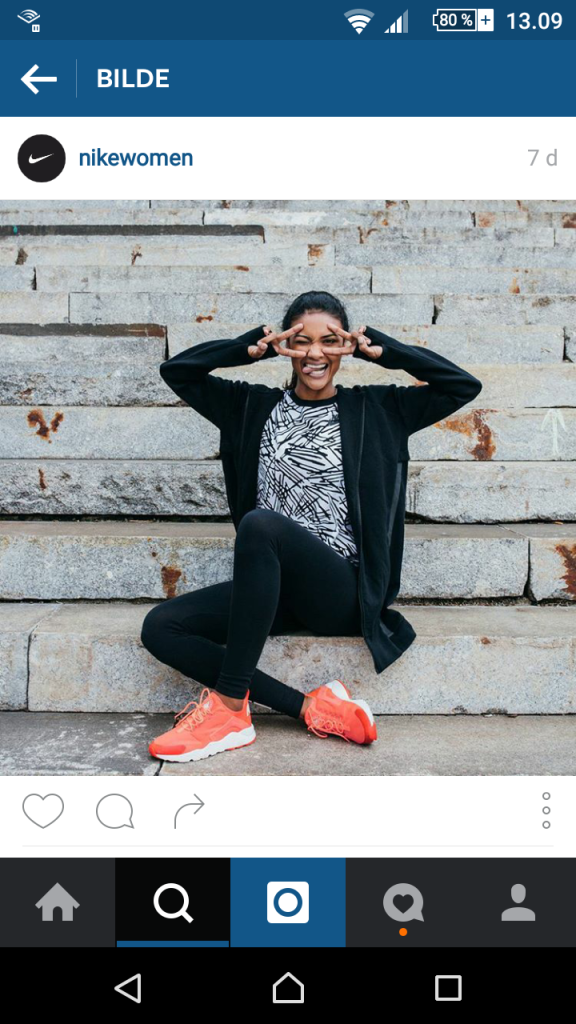 Instagram post fra Nike Women