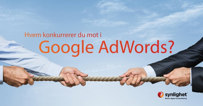 konkurrenter i google adwords